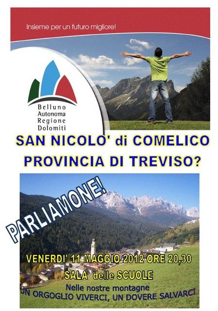 incontri del BARD - Belluno AUtonoma Regione DOlomiti a San Nicolò di COmelico